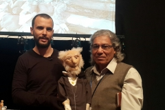 في مسرح الدمى بمهرجان الحسيني الصغير لفرقة تونس 2015