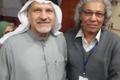 في مهرجان الحسيني الصغير بكربلاء مع الاستاذ حسين المسلم/الكويت