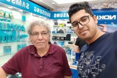 مع ولدي المهندس المهدي 2019