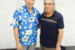 مع الفنان اياد راضي