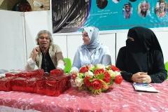 قراءتي النقدية في احتفال الشاعرة سمية المشتت مع الشاعرتين بلقيس خالد وسمية المشتت