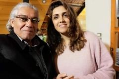 مع الفنانة أمل كعوش لبنان 2019