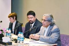 خلال تقديمي لمؤتمر الاقتصاد العراقي بالبصرة فندق مناوي باشا
